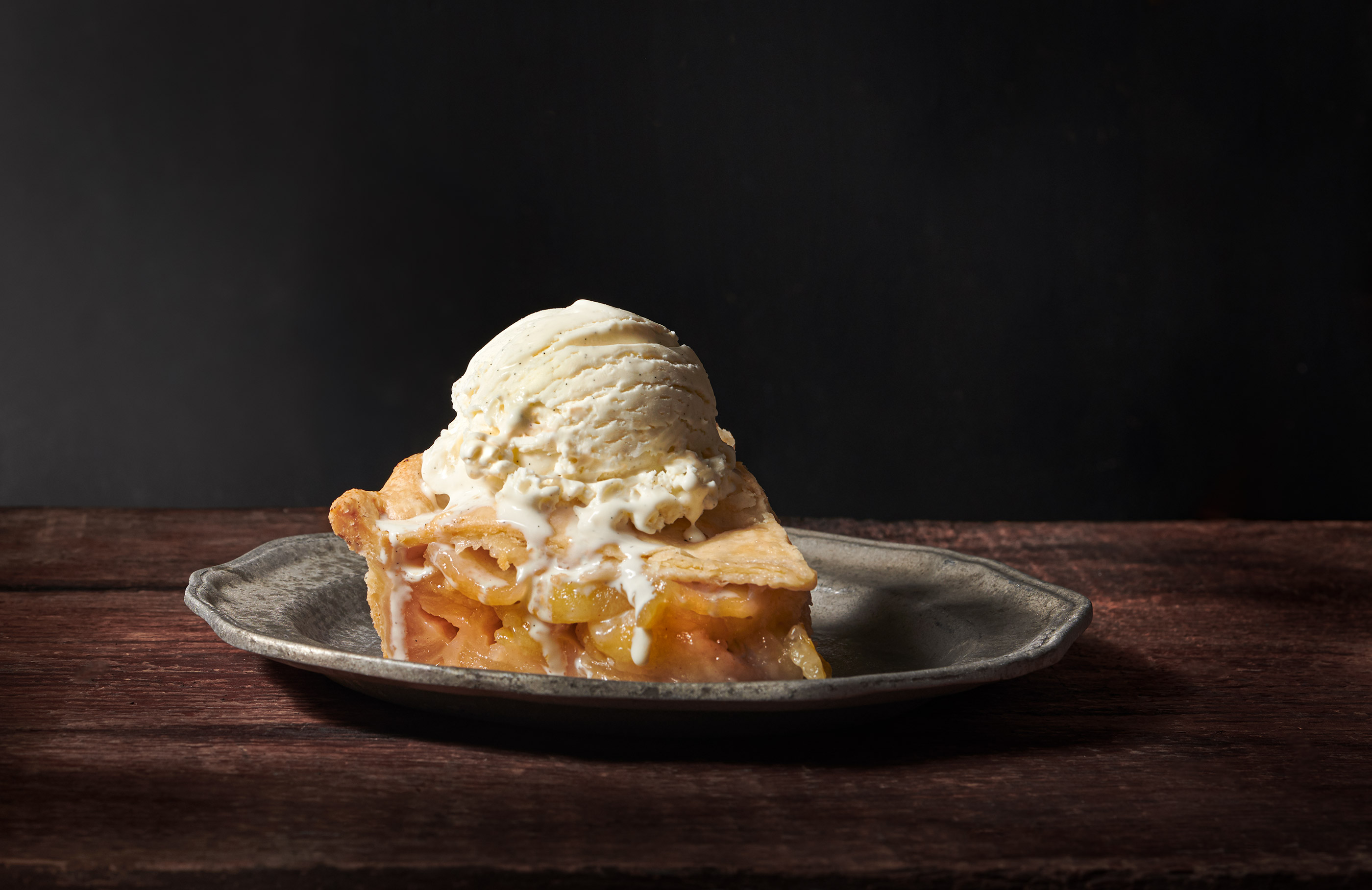 Apple Pie A La Mode | Steve Hansen Images Seattle Food Photographer