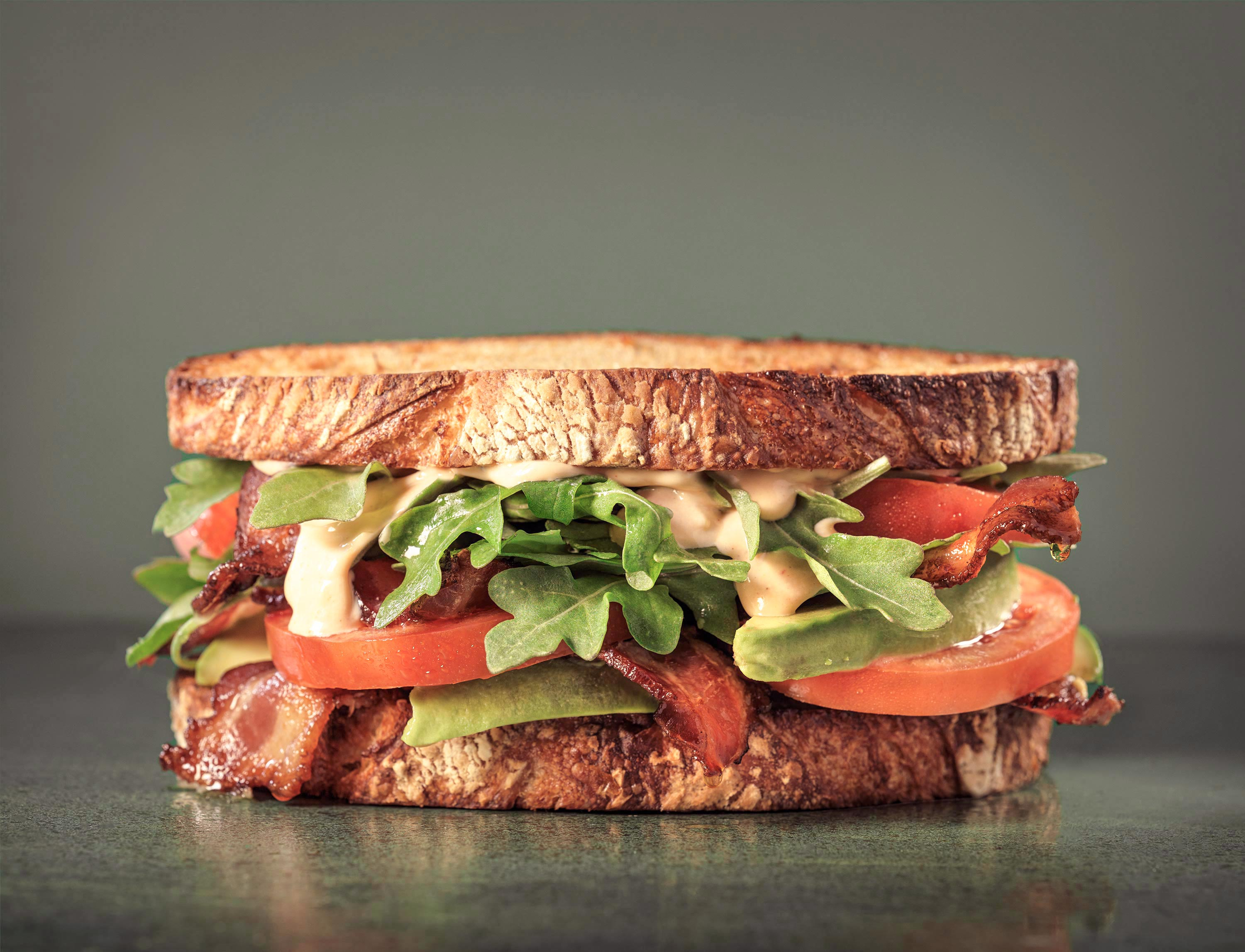 BLT Sandwich | Steve Hansen Images Seattle Food Photographer