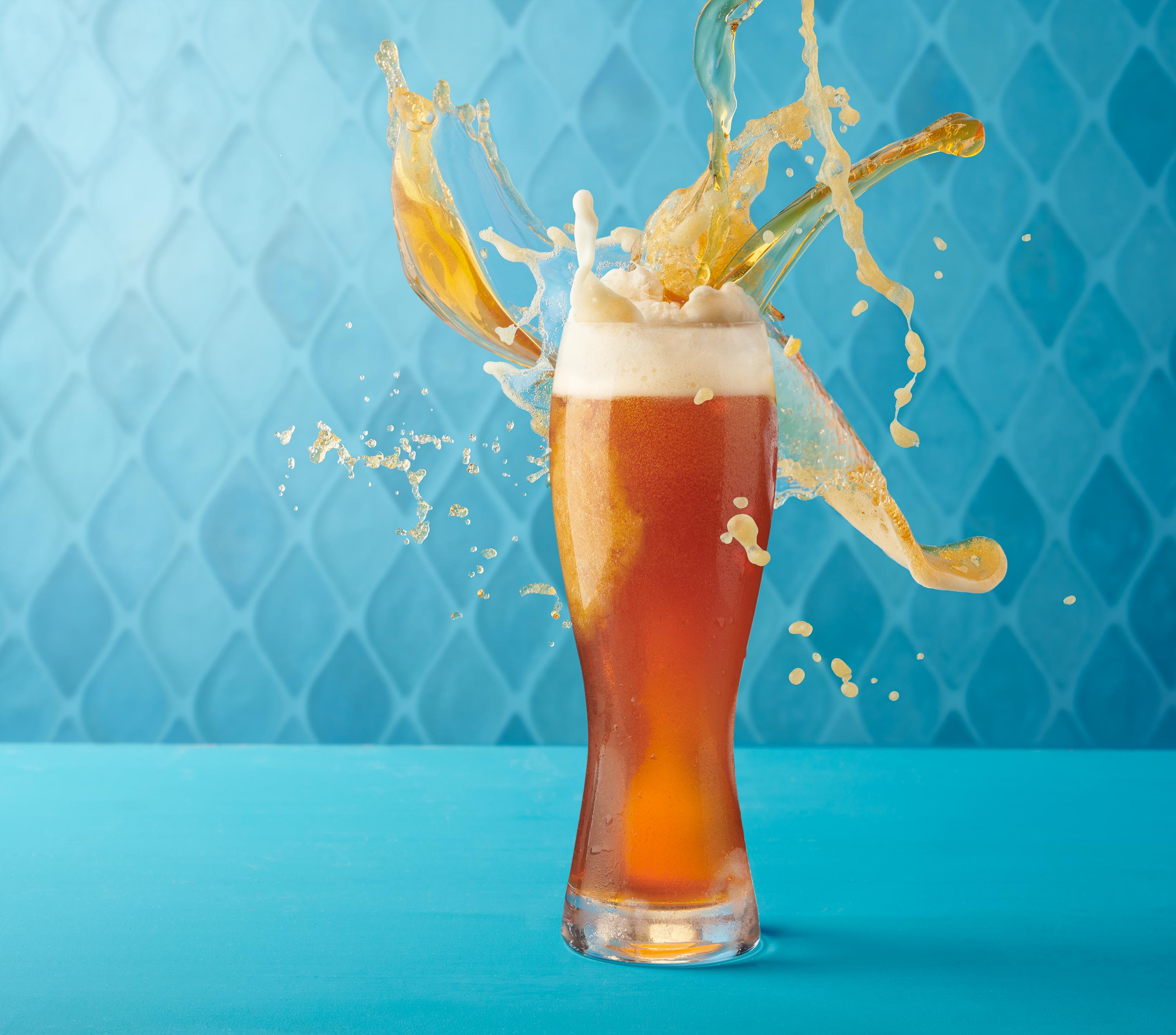 Beer Splash | Steve Hansen Seattle Food Photographer