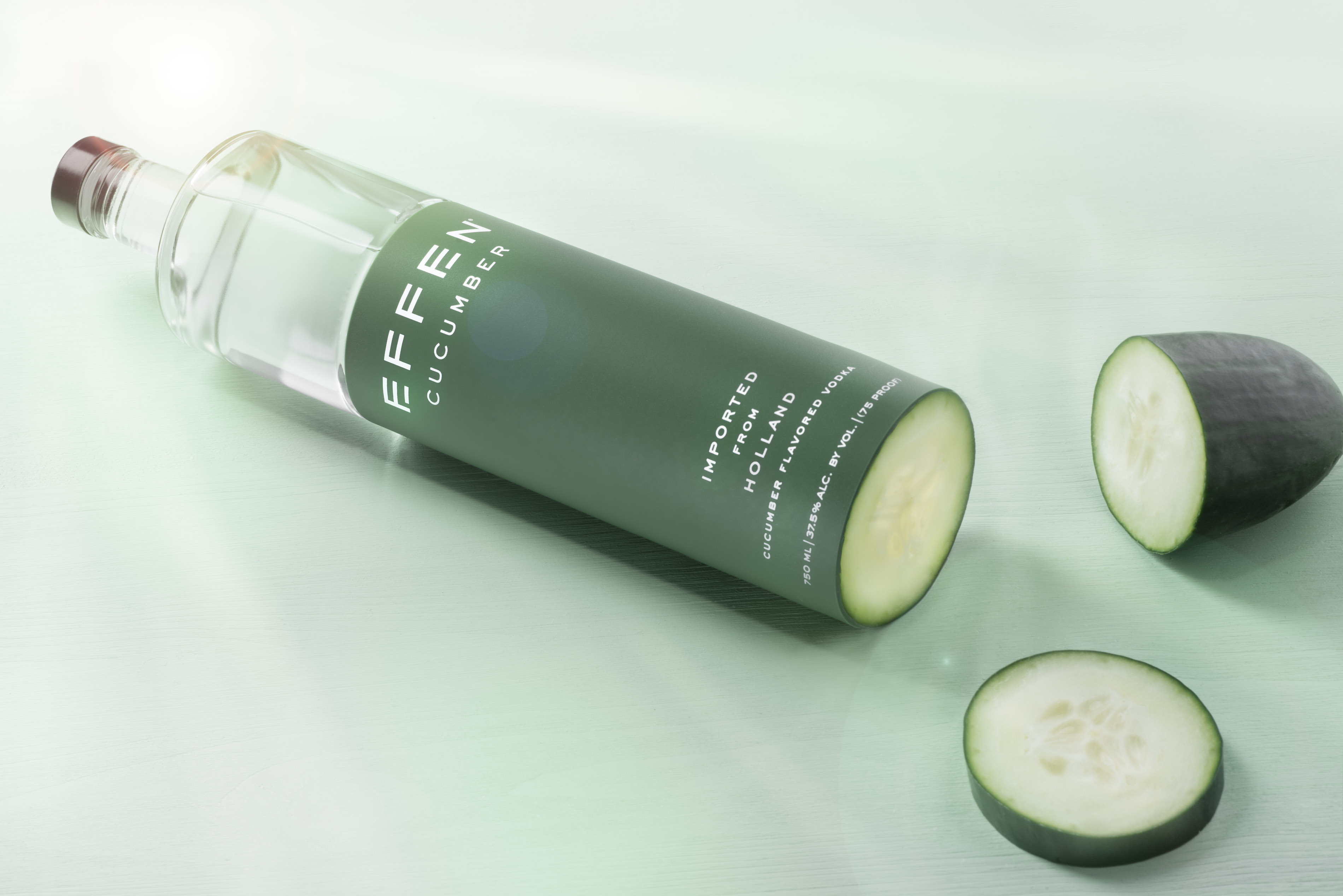 Effen Cucumber Vodka | Steve Hansen food photography Seattle