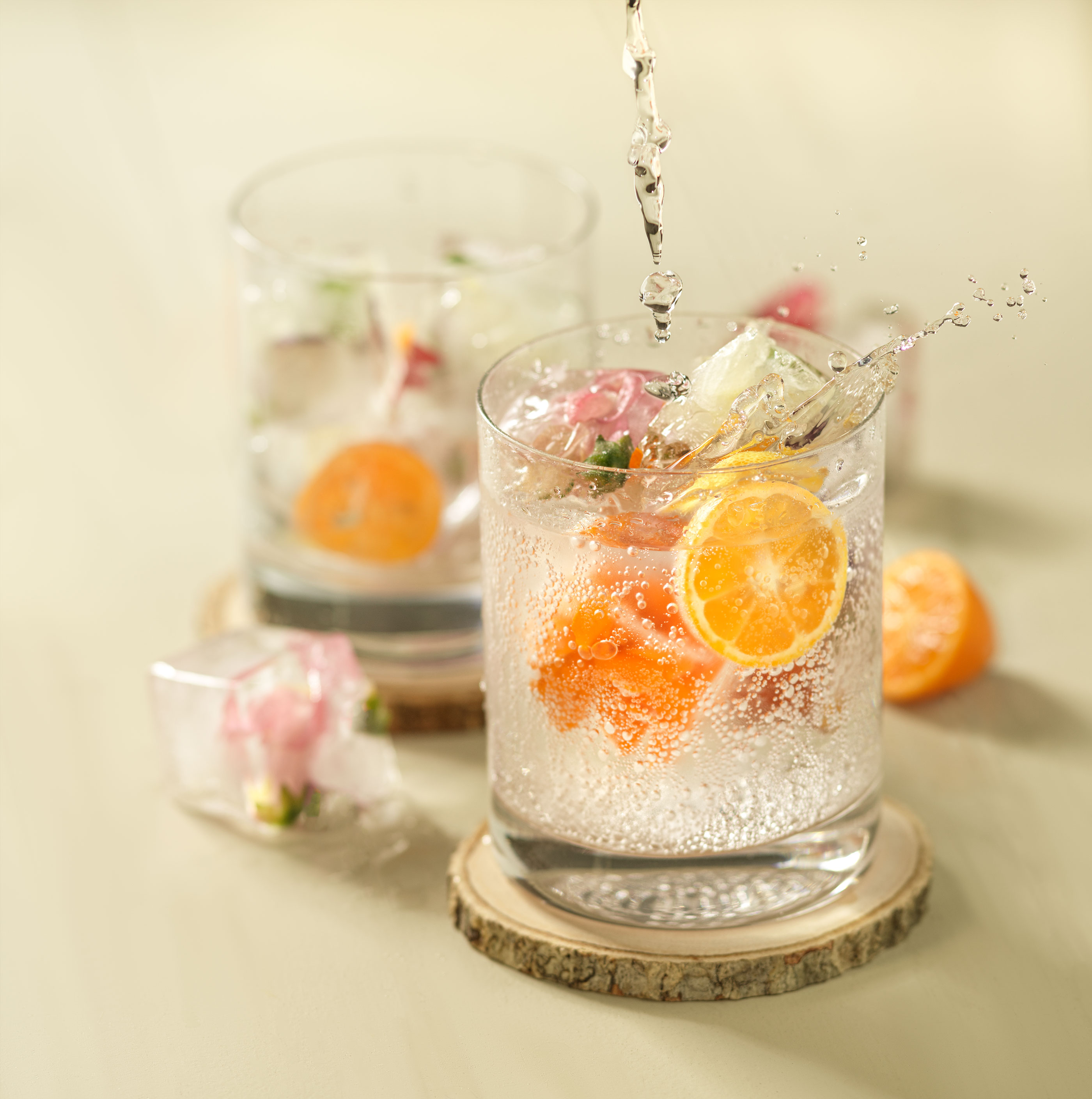 Flower Spritzer | Steve Hansen Images Seattle Food Photographer