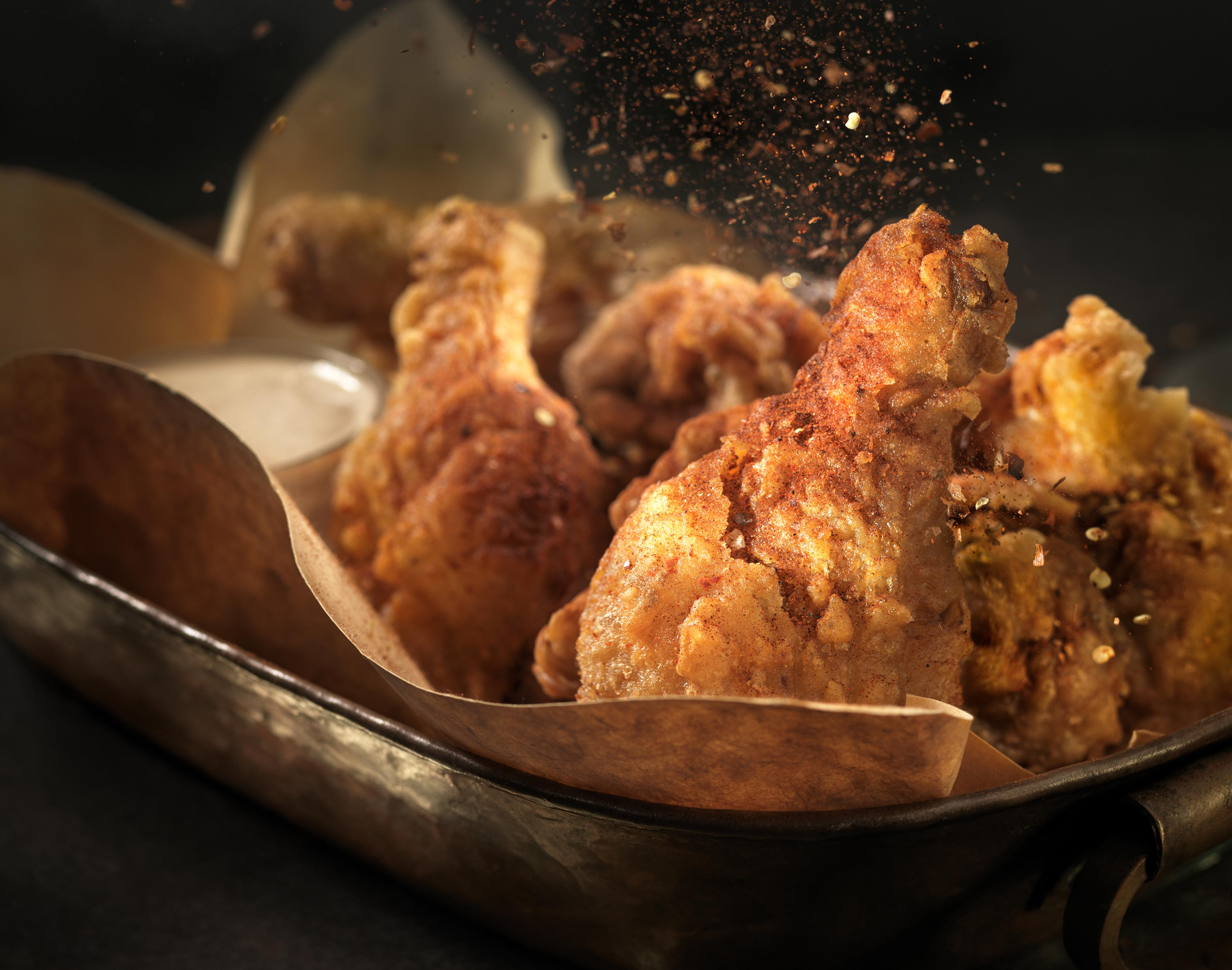 Fried Chicken | Steve Hansen Images Seattle Food Photographer