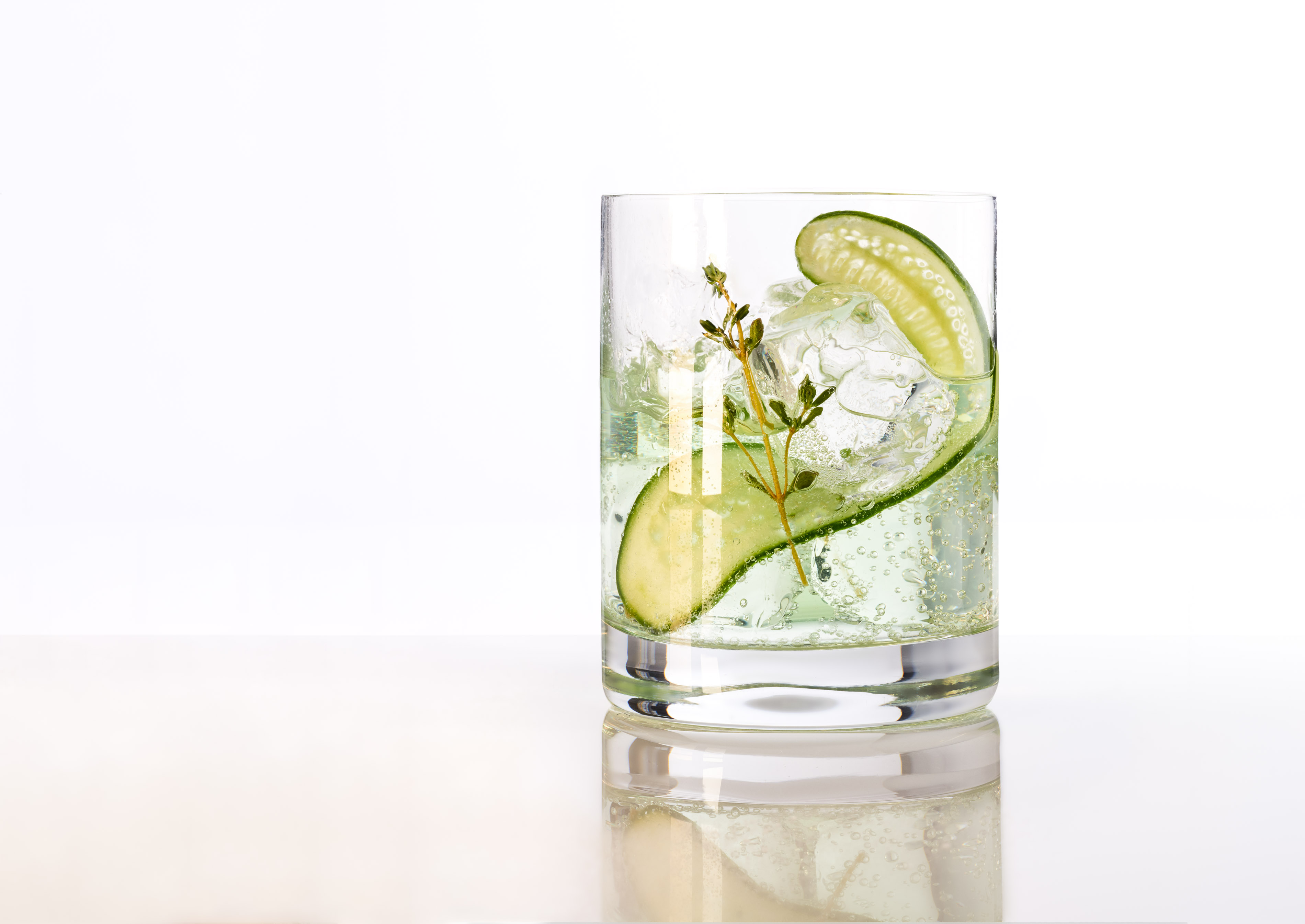 Gin Cucumber Cocktail | Steve Hansen Images Seattle Food Photographer