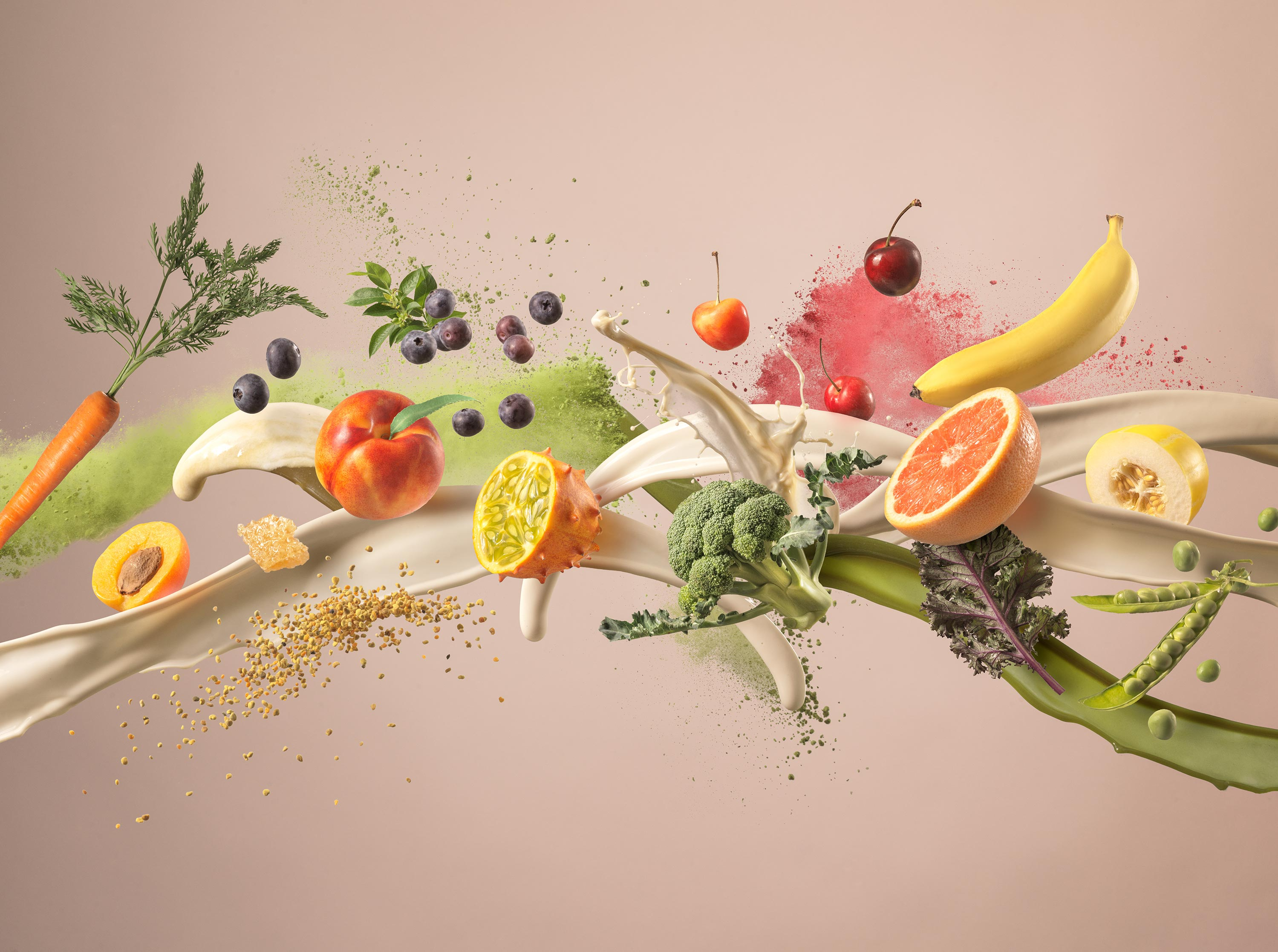 Protein Powder Splash | Steve Hansen Images Seattle Food Photographer