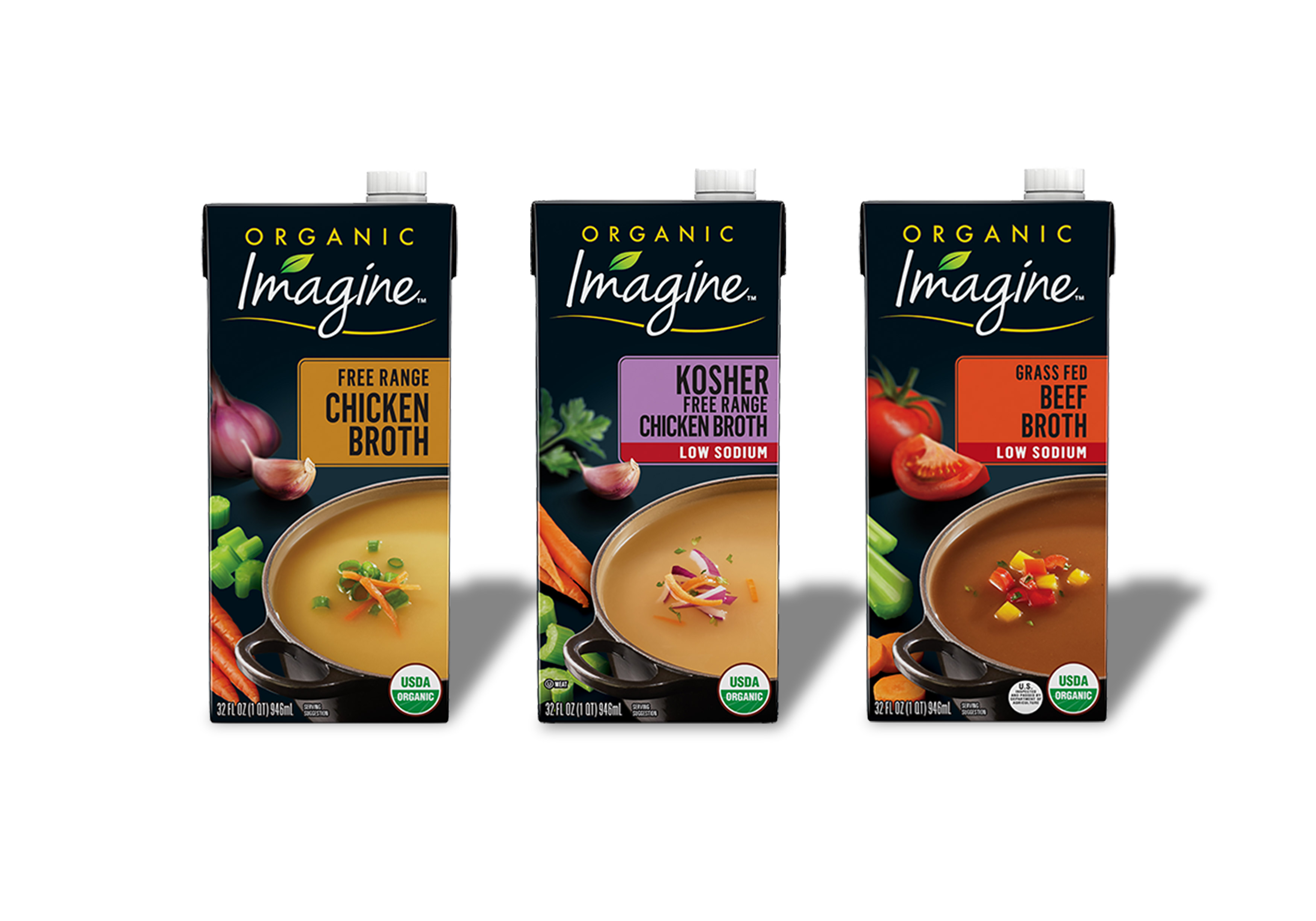 Imagine Broth | Steve Hansen food photography Seattle