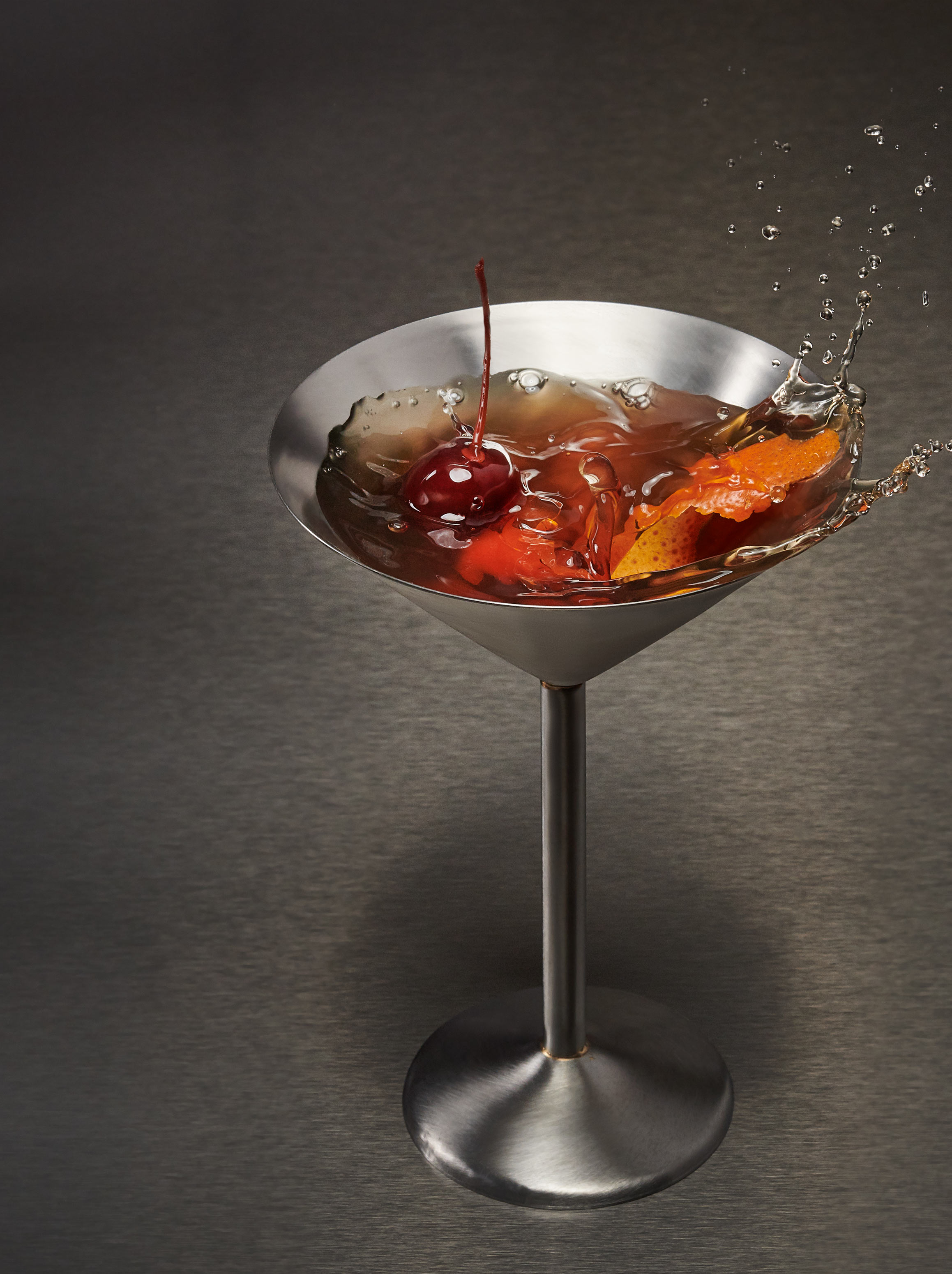 Manhattan Martini | Steve Hansen Images Seattle Food Photographer