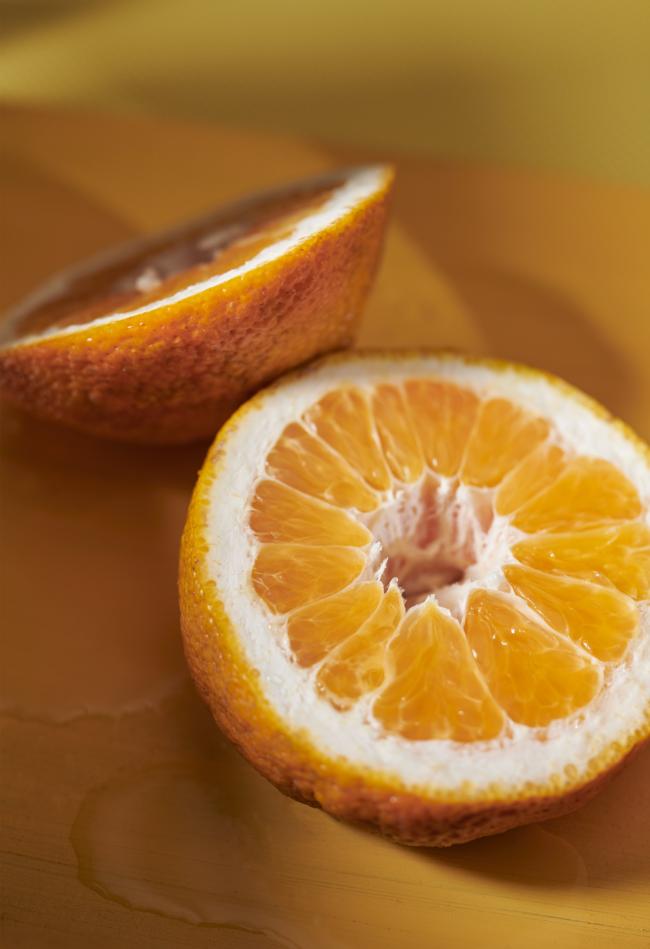 Orange Macro | Steve Hansen Images Seattle Food Photographer