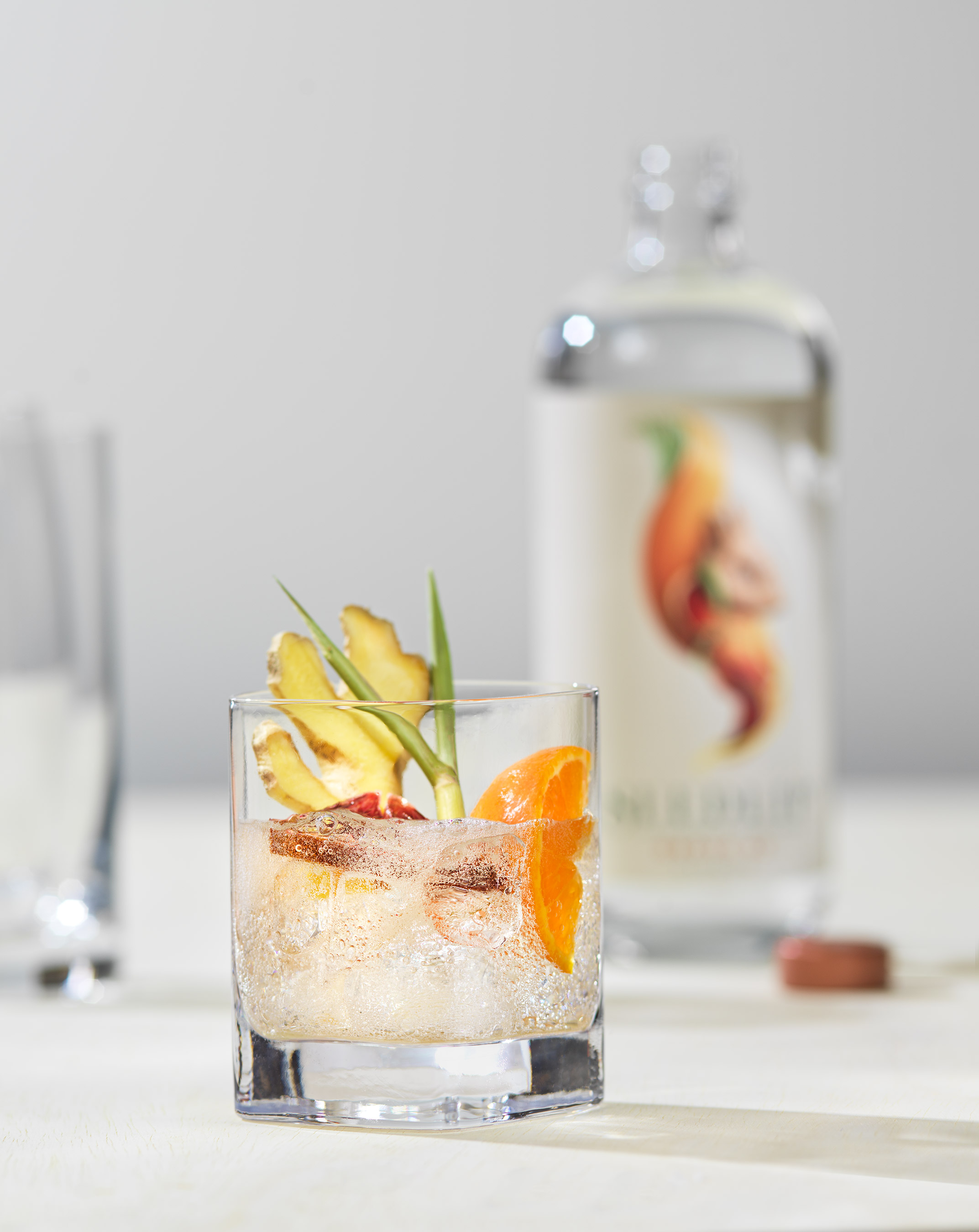 Orange Ginger Cocktail | Steve Hansen Images Seattle Food Photographer