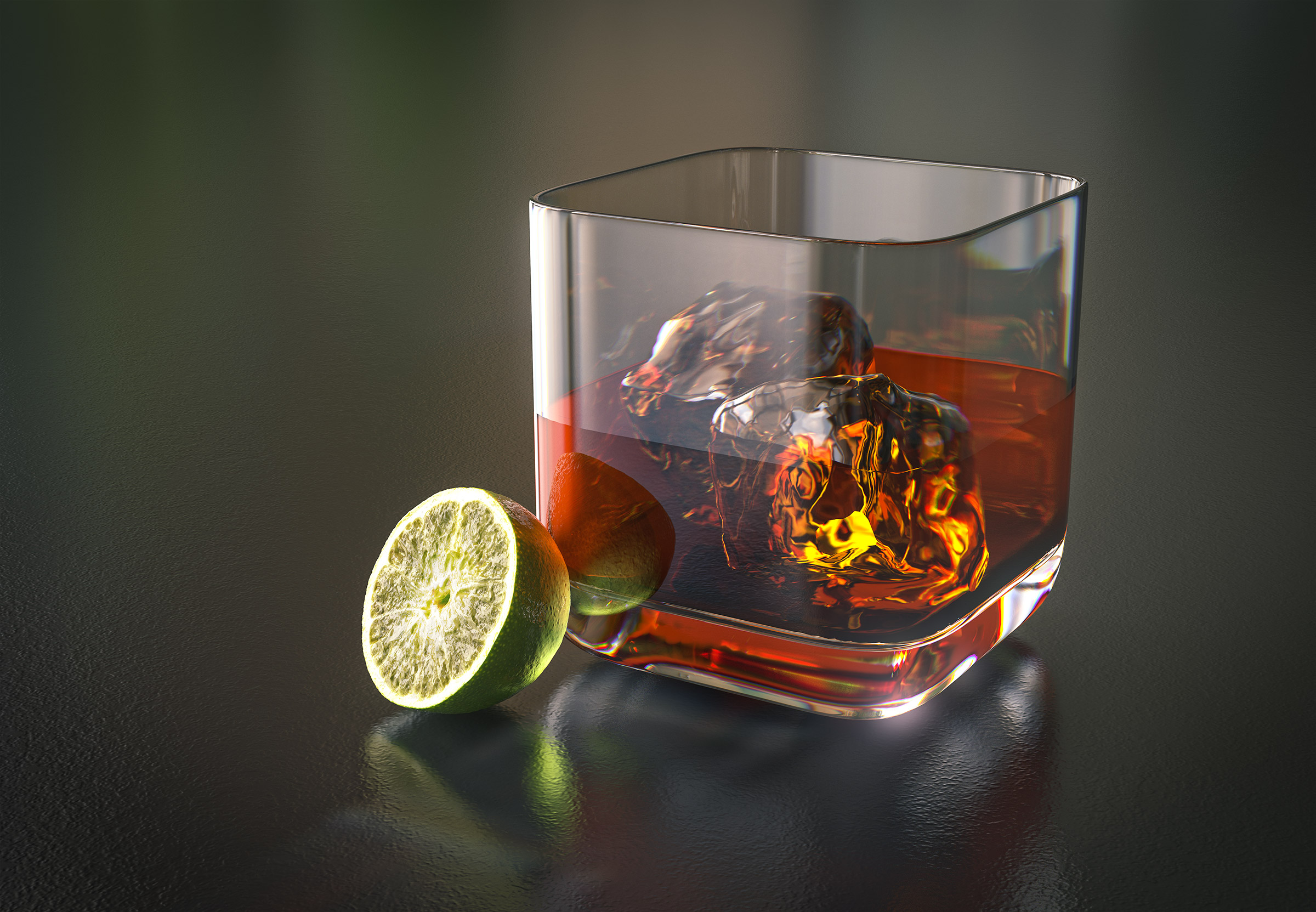 Whiskey CGI | Steve Hansen Images Seattle Food Photographer